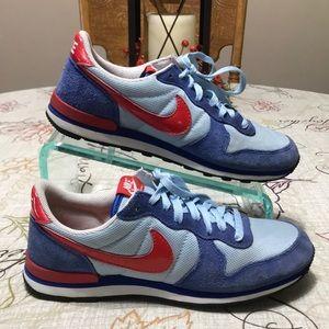 Nike Internationalist Running Shoes 316374 Sz 8.5